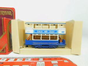 Bo963-0-5-MATCHBOX-tram-tram-CAR-y-15-Preston-Swan-soap-molto-bene-OVP