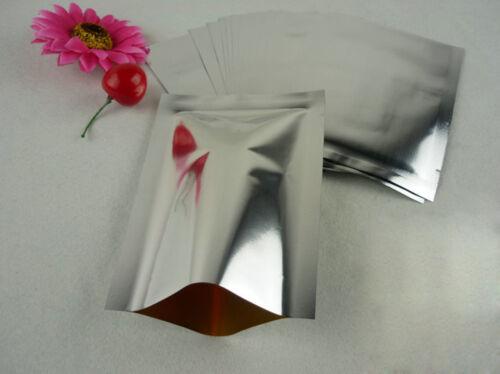 20-100pcs 18x25 cm argent Feuille D/'aluminium scelleuse sous vide sac de conserver les aliments frais