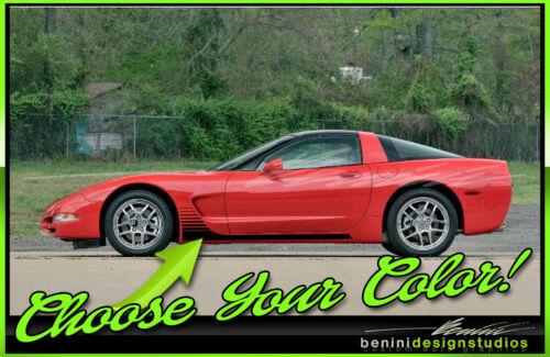 1997-2004 C5 Corvette Rocker Side Racing Stripes Fits Z06 2