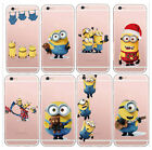 Minion Case/Cover Apple iPhone 5 5s SE 5C 6 6S 7 Plus Screen Protector Silicone