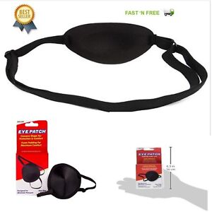 Details about Adult Eye Patch Medical Concave Maintena Foam Groove Washable  Eyeshades Healthca