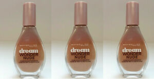 3x-Maybelline-Dream-Wonder-Nude-Foundation-Make-Up-40-Fawn-Cannelle