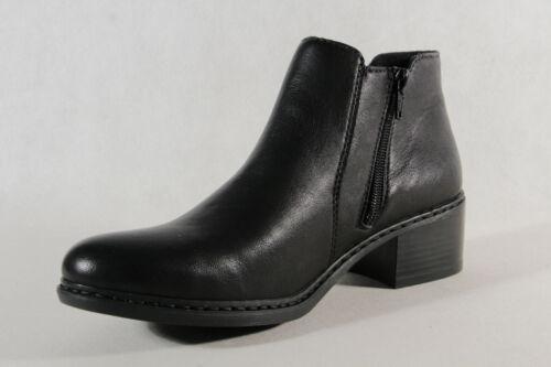 Rieker Stiefel Stiefelette Stiefeletten Boots Winterstiefel schwarz  77688 NEU!