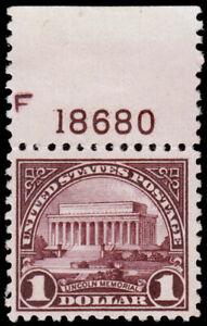 United-States-Scott-571-w-Plate-Number-1923-Mint-NH-VF-CV-75-00-C