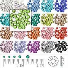 MIXED D00159 100-Nailheads Round 5mm Hotfix