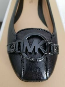 Michael-KORS-FULTON-MOC-MK-BLACK-LOGO-BLACK-SMOOTH-MOCCASINS-I-LOVE-SHOES