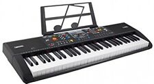 Plixio 61 Key Electronic Music Keyboard Electric Piano With USB and MP3 Input-