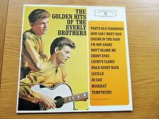 THE GOLDEN HITS OF THE EVERLY BROTHERS GERMAN PRESSING VINYL LP 1980's RE-ISSUE