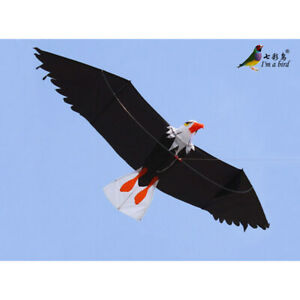 NEW-High-Quality-3D-Eagle-Kite-single-line-stunt-kite-Outdoor-fun-Sports-Tools