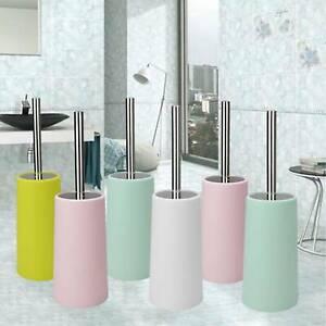 Free-Standing-Toilet-Brush-Set-Stainless-Steel-Matte-Finish-Bathroom-Furnishing