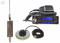 CB STARTER KIT TTI 550 CB RADIO CB MAGNETIC ANTENNA SPRINGER CHROME 1550mm
