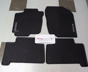 toyota rav4 2007 2012 factory all weather rubber floor. Black Bedroom Furniture Sets. Home Design Ideas