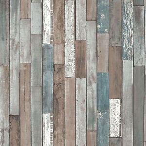 legno-ASSI-Carta-da-parati-Blu-FD40888-NUOVA-IN-RECUPERATO-DECORAZIONE