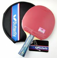 Japan Butterfly Tbc501 / Tbc 501 Table Tennis Bat / Paddle With Free Case,