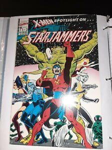 X-Men Spotlight on... Starjammers #1-2 (1990, Marvel)