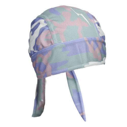 SKULL CAP Du Rag Head Wrap Motorcycle Biker Do Doo Bandana Adjustable Quick Dry