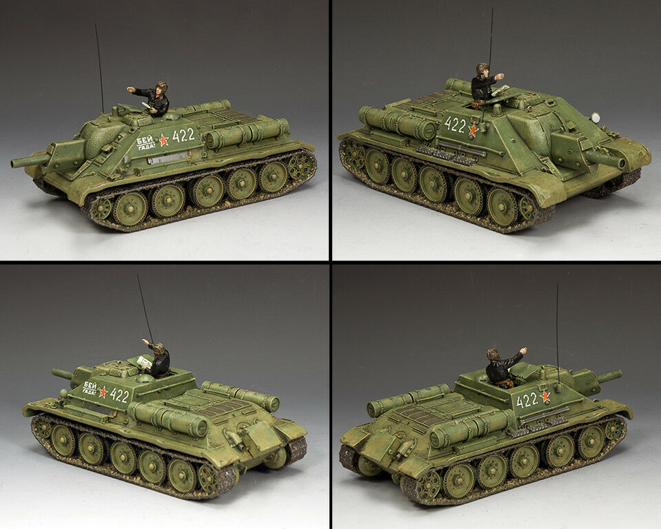 KING & COUNTRY FALL OF BERLIN RA077 RUSSIAN RUSSIAN SOVIET SU-122 SELF PROPELLED HOWITZE