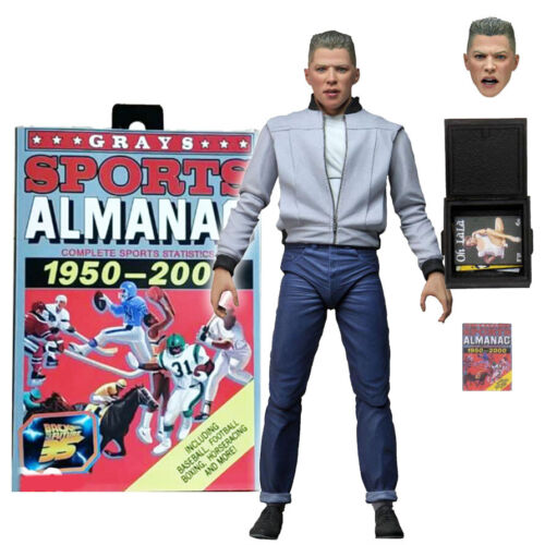 """NECA Back to the Future Biff Tannen Ultimate 7/"""" Action Figure New In Stock"""