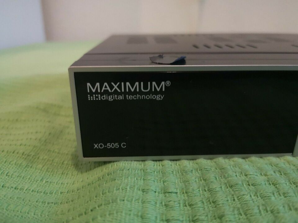 Digital tv modtager, Maximum, XO-505 C
