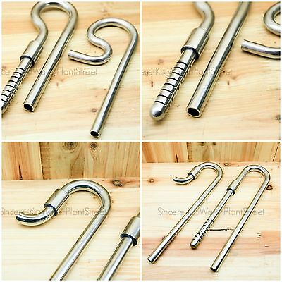 WaterPlantStreet Tank Stainless Steel Inflow & Outflow 9mm, 13mm, 17mm Pipe Set