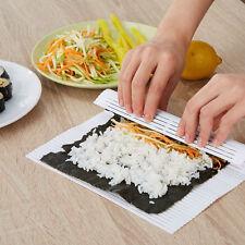 2 Packs Sushi Roller Rice Roll Mold Bento Maker Mould Kitchen Tools Kit Gadget