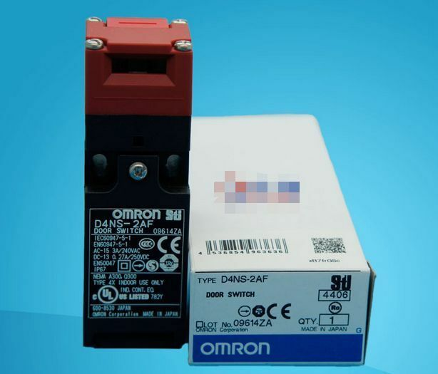 D4NS-2AF D4NS2AF 1PC NEW IN BOX OMRON Safety Door Switch free shipping plcBeste