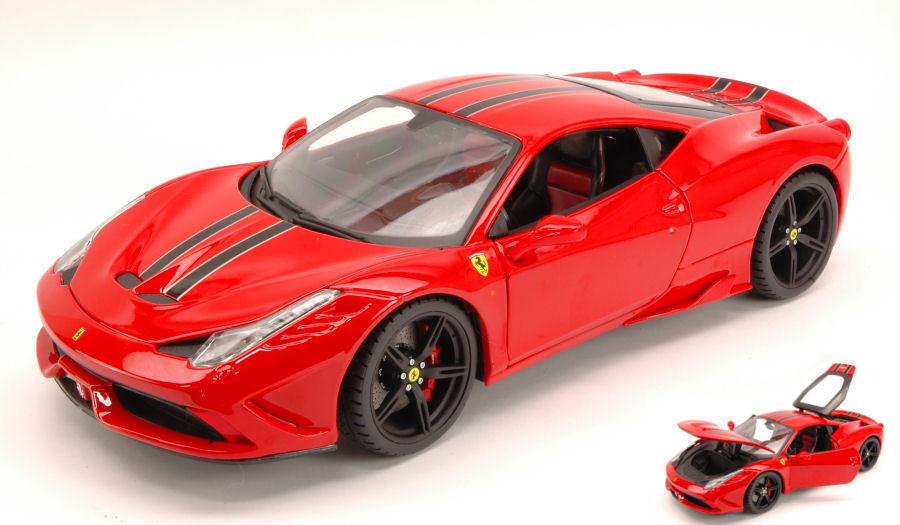 Signature Ferrari 458 Speciale 2014 Red 1:18 Model 16903R BBURAGO