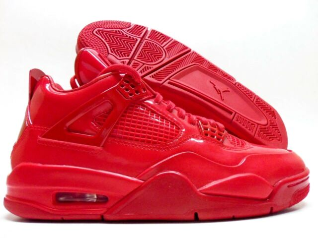 size 40 8d1b1 99bdc NIKE JORDAN 11LAB4 IV PATENT UNIVERSITY RED WHITE SIZE MEN S 8.5  719864-600