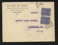 Venezuela  ad  cover  1925   to    US    Eastman Kodak       DA1124