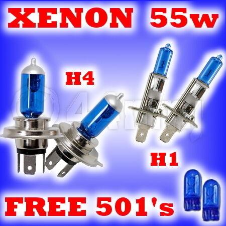 LAMPADINE 55W per Nissan Urvan H4 H1