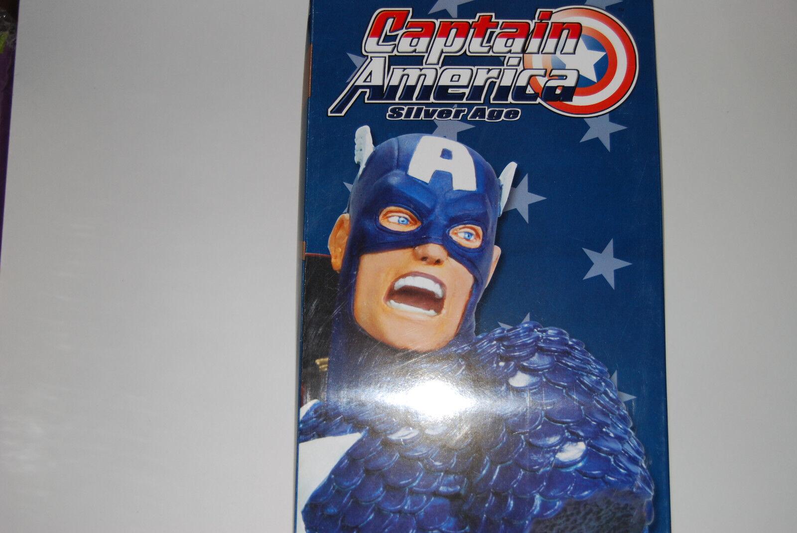 Capitán América Edad de Plata 8  Busto Marvel Universe (ahora Los Vengadores Nuevo Sideshow 1234