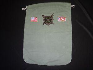 Vietnam War US 5th SFGrp CCC RECON Team GOOD GRIEF Green OD Barrack Laundry Bag