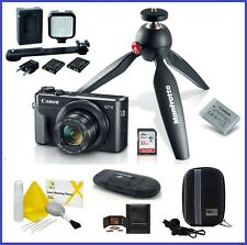Canon PowerShot G7 X Mark II Digital Camera Video Creator Kit PRO Bundle