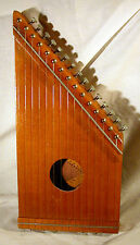 Vintage-Citara-Mini-Harpa-15-String-Lap-Harp-Very-Good-Used-Condition