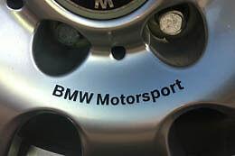 Wheel Rim Decal - BMW Motorsport for 216 rims