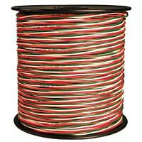 Coleman Cable 500' Red/white 20 Awg Thermostat Alarm Bell Wire 70102-66-32