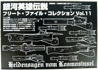 810066 Wright Staff Legend of the Galactic Heroes Fleet File Collection 06