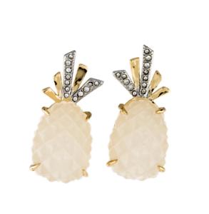 Alexis Bittar Pineapple Clip Earrings