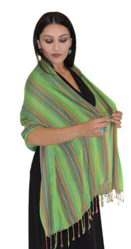 Shawls Scarves Hijab Evening Wrap Cover-Up Woven Reversible Lightweight Stylish