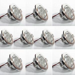 Lot-10-x-Spot-led-downlight-rond-encastrable-3w-blanc-froid-plafonnier-encastre