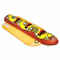 Sportsstuff Hot Dog 3 Person Inflatable Boat Lake Water Towable Tube | 53-3060 on sale