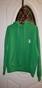 uk availability a3ce4 71547 Details about Chicago Cubs Antigua Size Large Green Full Zip Hoodie  Sweatshirt - Unisex