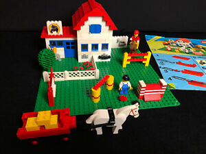 Lego-6379-Riding-Stable-Reitstall-City-Stadt-Town