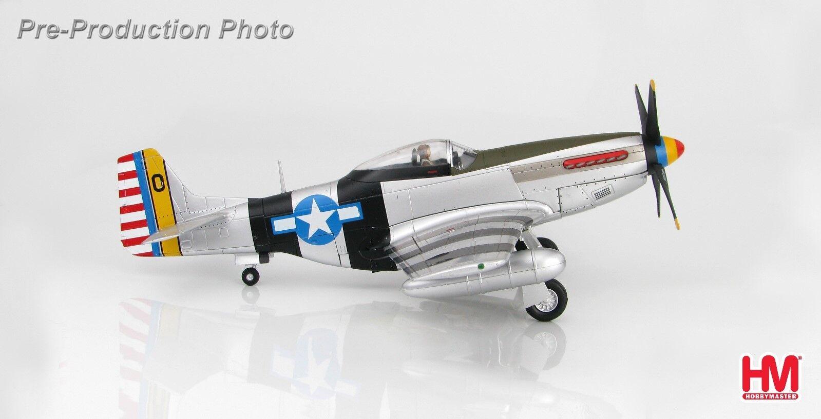 Hobby Master HA7738, P-51K Mustang   Mme Bonnie , Le lieutenant-colonel Bill Dunham, Vice-Co  produit de qualité d'approvisionnement