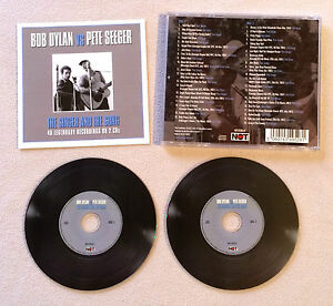 BOB-DYLAN-VS-PETE-SEEGER-THE-SINGER-ANS-THE-SONG-DOUBLE-CD-ALBUM