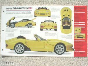 Broschüre Mantis Spezial Folie 1996,1997 1998,1999