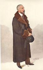 1908 impresión Original Vanity Fair ~ h.s.h Gran Duque Michael de Rusia ~ espía