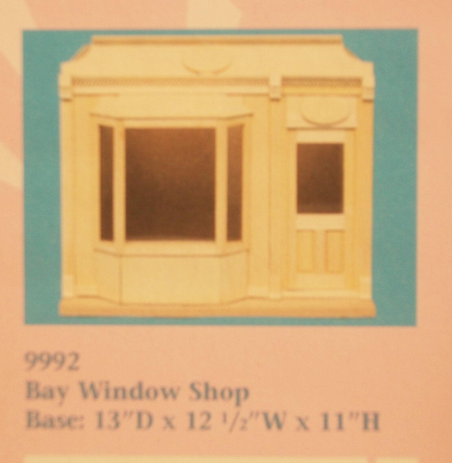 Bay Window Shop Kit por Houseworks 9992 sin Terminar Madera 1 12 Escala