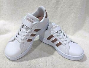 adidas Grand Court C White/Rose Gold