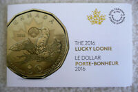 2016 Canadian $1 Rio Olympics Lucky Loonie Sealed from Pack No Tax